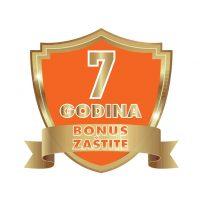 Bonus zaštite logotipovi-7 godina